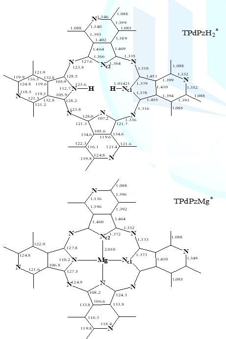 Structure of tpdpzh2* (h=