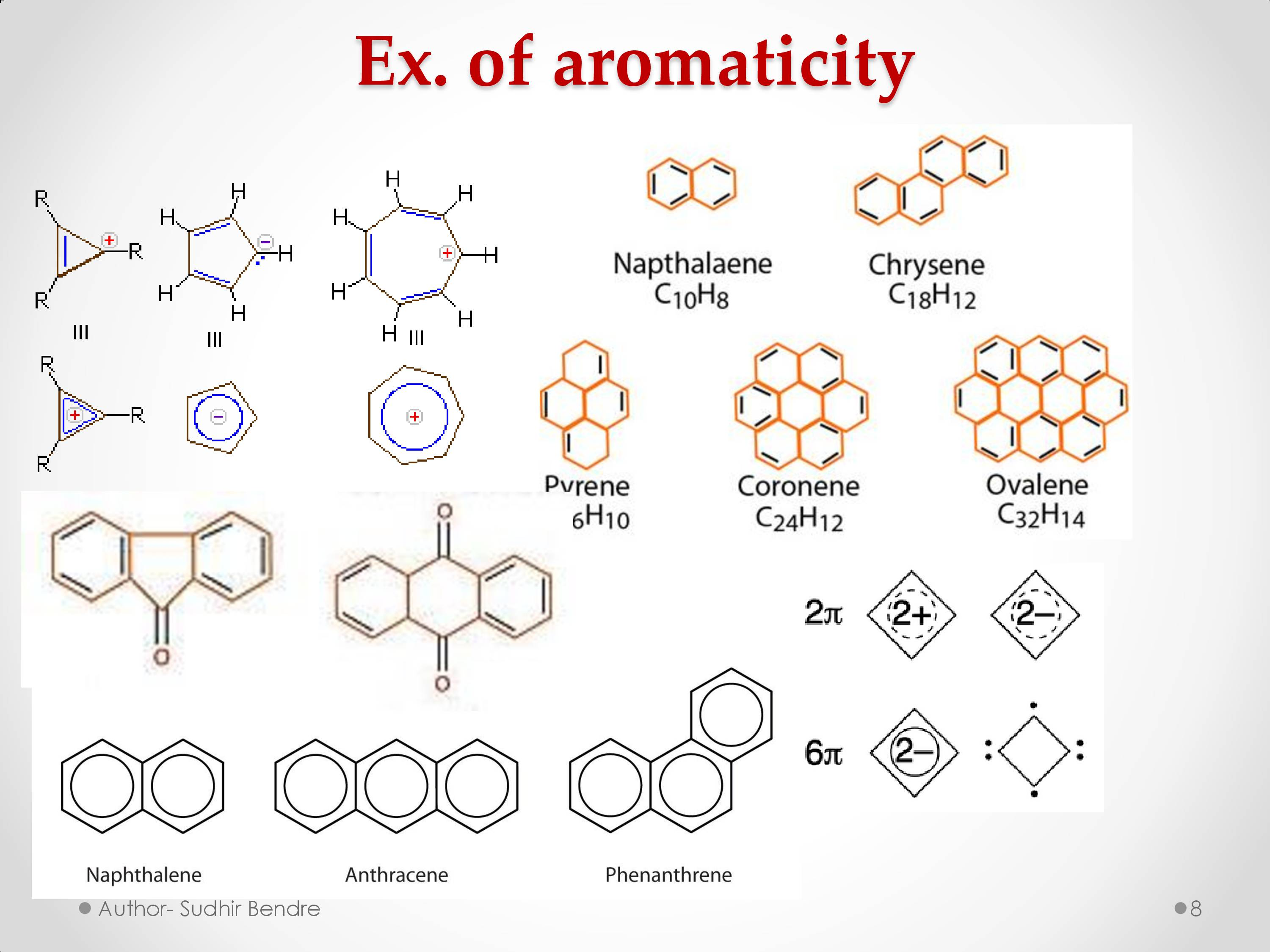 This is the image which is related to Aromaticity