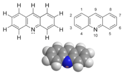 This is the image which is related to Acridine