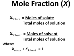 This is the image related Mole Fraction Source- Wikipedia