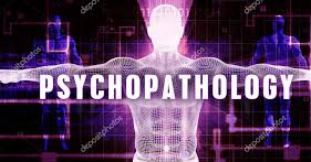 This image explains about Psychopathology which include mental health, depression, anxiety disorders