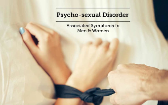 This image explains about psychosexual disorder which include mental health, depression, anxiety disorders, and suicidal feelings