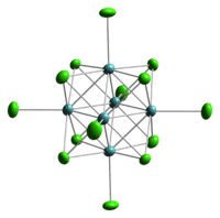 This is the image related to Cluster chemistry Source - Wikipedia